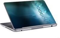 AV Styles Dna Coil In Blue Skin Vinyl Laptop Decal (All Laptops)