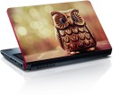 Amore Deviantart Owl Vinyl Laptop Decal - All Laptops With Screen Size Upto 15.6 Inch