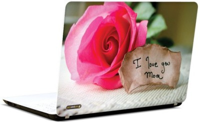 Pics And You Love You Mom Vinyl Laptop Decal (Laptops And Macbooks)