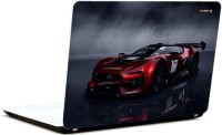 Pics And You Red Car Vinyl Laptop Decal (Laptops And Macbooks)