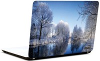 Pics And You Snowbound Nature 19 3M/Avery Vinyl Laptop Decal (Laptops And MacBooks)