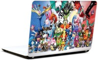 Pics And You Pokemon Cartoon Themed 120 3M/Avery Vinyl Laptop Decal (Laptops And MacBooks)
