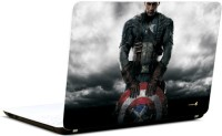 Pics And You Captain America Posing Vinyl Laptop Decal 15.6 (Laptops And Macbooks)