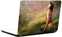 Pics And You Beautiful Girl Abstract 2 Vinyl Laptop Decal (Laptops And Macbooks)