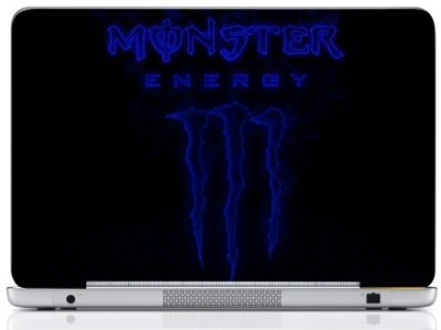 WebPlaza Monster Laptop Skin Vinyl Laptop Decal (All Laptops With Screen Size Upto 15.6 Inch)