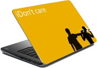 MeSleep Don't Care LS-91-123 Vinyl Laptop Decal (All Laptop Skin)
