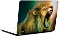 Pics And You Roaring Lion 3M/Avery Vinyl Laptop Decal (Laptops And MacBooks)