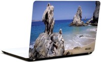 Pics And You Beachside View 7 3M/Avery Vinyl Laptop Decal (Laptops And MacBooks)