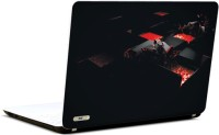 Pics And You Black N Red Vinyl Laptop Decal (Laptops And Macbooks)
