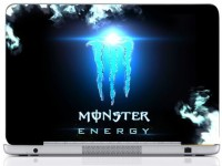 WebPlaza Monster Logo Laptop Skin Vinyl Laptop Decal (All Laptops With Screen Size Upto 15.6 Inch)