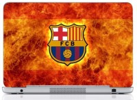 WebPlaza Fcb Fire Skin Vinyl Laptop Decal (All Laptops With Screen Size Upto 15.6 Inch)