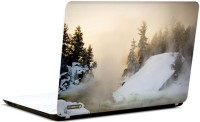 Pics And You Whimsical White Nature 4 3M/Avery Vinyl Laptop Decal (Laptops And MacBooks)