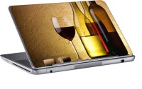 AV Styles Wine With Bottles Skin Vinyl Laptop Decal (All Laptops)