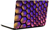 Pics And You Glossy Honeycomb Vinyl Laptop Decal (Laptops And Macbooks)