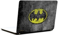 Pics And You Batman Rugged Logo 3M/Avery Vinyl Laptop Decal (Laptops And MacBooks)