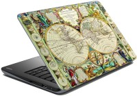 MeSleep Map LS-87-205 Vinyl Laptop Decal (All Laptop Skin)