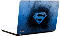 Pics And You Awesome Superman Logo 3M/Avery Vinyl Laptop Decal (Laptops And MacBooks)