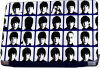 ShopMantra The Beatles Member'S Multi Face Vinyl Laptop Decal (All Laptops With Screen Size Upto 15.6 Inch)