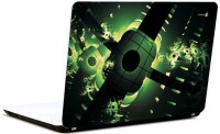 Pics And You Green And Black Vinyl Laptop Decal (Laptops And Macbooks)