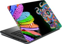 MeSleep Multi Color Vinyl Laptop Decal (Laptop)