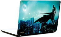 Pics And You Batman In City 3M/Avery Vinyl Laptop Decal (Laptops And MacBooks)