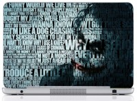WebPlaza Typography Joker Laptop Skin 15 Vinyl Laptop Decal (All Laptops With Screen Size Upto 15.6 Inch)