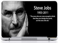 WebPlaza Steve Jobs 1955 0211 Laptop Skin Vinyl Laptop Decal (All Laptops With Screen Size Upto 15.6 Inch)