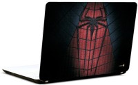 Pics And You Spiderman Logo Dark Vinyl Laptop Decal (Laptops And Macbooks)