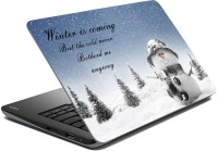MeSleep Winter Is Coming LS-85-026 Vinyl Laptop Decal (All Laptop Skin)