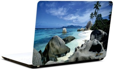 Pics And You Bold And Blue 3 3M/Avery Vinyl Laptop Decal (Laptops And MacBooks)