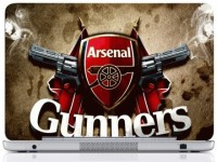 WebPlaza Arsenal Gunners Skin Vinyl Laptop Decal (All Laptops With Screen Size Upto 15.6 Inch)