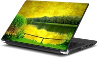 EzyPRNT Green Field At Riverside (15 To 15.6 Inch) Vinyl Laptop Decal 15 (Dell Laptop, HP Laptop, Lenovo Laptop, Acer Laptop, Samsung Laptop, Toshiba Laptop, Apple Laptops)