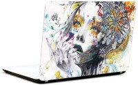 Pics And You Girl Abstract Vinyl Laptop Decal (Laptops And Macbooks)