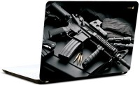 Pics And You Gun N Bullet 5 Vinyl Laptop Decal (Laptops And Macbooks)