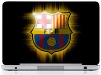 WebPlaza Fcb Black Logo Skin Vinyl Laptop Decal (All Laptops With Screen Size Upto 15.6 Inch)