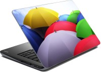 MeSleep Multi Color Umbrella Vinyl Laptop Decal (Laptop)