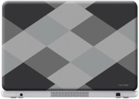 Macmerise Criss Cross Grey - Skin For Dell Inspiron 15R-5520 Vinyl Laptop Decal (Dell Inspiron 15R-5520)