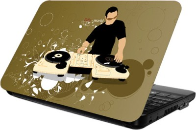 Printland DJ Laptop Skin 14.2 x 10 Vinyl Laptop Decal Laptop available at Flipkart for Rs.199