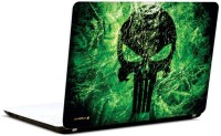 Pics And You Green Danger 3M/Avery Vinyl Laptop Decal (Laptops And MacBooks)