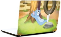 Pics And You Tom And Jerry Cartoon Themed 184 3M/Avery Vinyl Laptop Decal (Laptops And MacBooks)