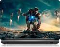Zapskin Iron Man 3 Iron Man Vs Mandarin Skin Vinyl Laptop Decal - Laptop