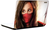 Pics And You Dangerous Beauty 3M/Avery Vinyl Laptop Decal (Laptops And MacBooks)