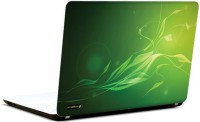 Pics And You Intricate Pattern Green Vinyl Laptop Decal (Laptops And Macbooks)