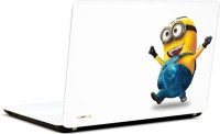Pics And You Minion Happy Vinyl Laptop Decal (Laptops And Macbooks)