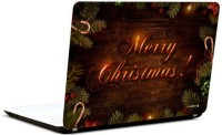 Pics And You Merry Christmas Vinyl Laptop Decal (Laptops And Macbooks)