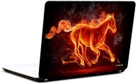 Pics And You 3D Horse Vinyl Laptop Decal (Laptops And Macbooks)