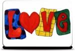 Merchbay Love Text Skin I Artist Seema Hooda