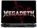 SkinShack Megadeth Red & Black (14.1 Inch) Vinyl Laptop Decal - Laptop