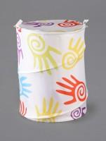Skap 20 L HAMPER 292 Laundry Basket Multicolor, Wired