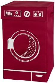Wenko More Than 20 L Red Laundry Bag